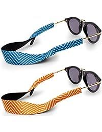 Cordon sport pour lunettes et lunettes de soleil, attache en néoprène  extensible - IHUIXINHE 2PCS 58e945620027