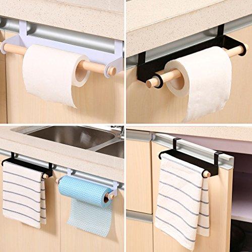 Qiman percha papel baño soporte toalla soporte papel