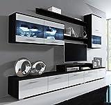 muebles bonitos Letto Piazza e Mezza Moderno di Design Alessia Bianco Rivestito in Ecopelle per Materasso da 140x190cm con Rete Incluse