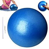 CoMoo Ballon de Pilates, Balle Gymnastique Fitness Yoga Exercice Thérapeutique Anti Eclatement pour Filles Femmes