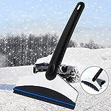 Vegkey Eiskratzer, Eisschaber und Schneebesen Eiskratzer für Auto Windschutzscheibe Und Fenster Schneeschaufel Eisschaber