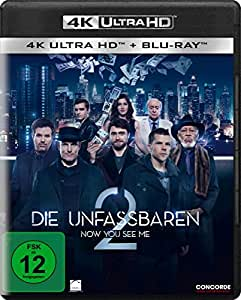 Die Unfassbaren 2 - Now You See Me (4K Ultra HD) (+ Blu-ray)