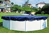 Bâche d'hivernage pour piscine hors-sol ovale diam. 915 x 470 cm