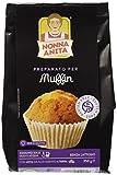 Nonna Anita Preparato in Polvere per Muffin, senza Glutine - 350 gr - [confezione da 2]