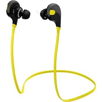 Auricolari Wireless Bluetooth 4.0 Headset Stereo Cuffie Sportive a Prova di Sudore con Microfono e AptX Tecnologia Headphone per iPhone/Samsung/Sony/Huawei ed altri Smartphone