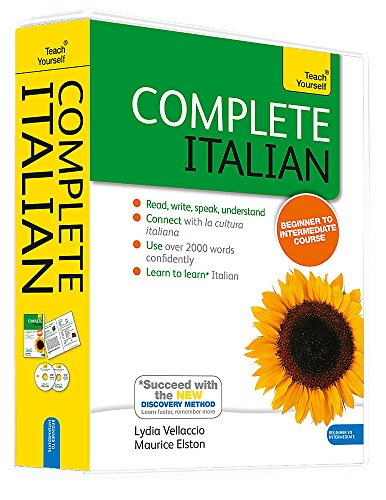 Complete Italian Book & CD Pack: Teach Yourself: Learn to read, write, speak and understand a new language with Teach Yourself (Teach Yourself Complete)