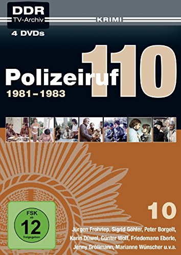 Polizeiruf 110 - Box 10 - DDR TV-Archiv (Softbox) [4 DVDs]