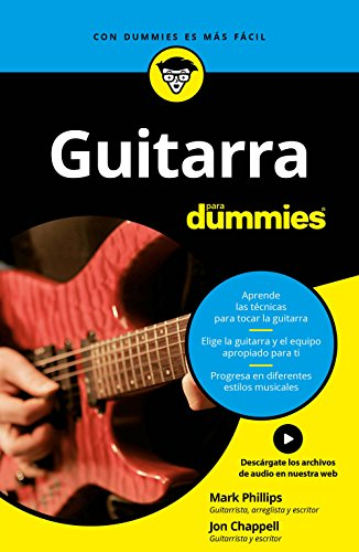 Guitarra para Dummies de [Phillips, Mark, Jon Chappell]