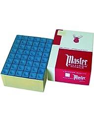 Tiza para Billar Master Gris, 144 unidades