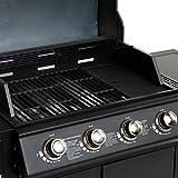 Mayer Barbecue ZUNDA Gasgrill MGG-541 Basic mit Seitenbrenner - 2