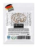 Reishi - Natürliche Wildsammlung | TOP-Qualität vom Original | ISO-9001-zertifiziert + laborgeprüft | roh vegan + schonend getrocknet | kleine Brocken (kein Pulver) | 100g