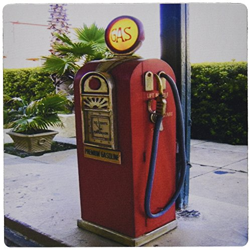 3drose 8x 8x 0,25Antik Gas Pumpe fotografiert in Georgien Mauspad (MP _ 109113_ 1)