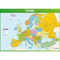Europe Map Poster | Geography Poster for Students & Teachers | Large Map of Europe | High-Quality Wall Chart - A1 (841mm x 594mm) | Educational Geography Wall Chart by Daydream Education