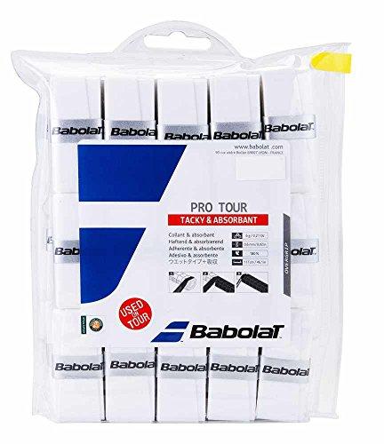 Babolat Pro Tour Overgrip 30er Pack weiß