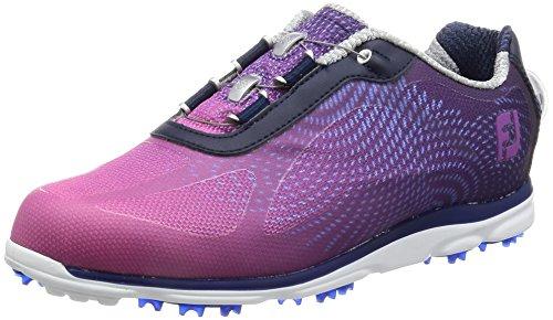 Footjoy Damen Golfschuhe Mehrfarbig Azul Marino/Ciruela 38 (M)