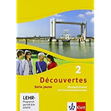 Découvertes Série jaune 2. Übungssoftware mit Vokabeltrainer. Einzellizenz: Série jaune (ab Klasse 6)