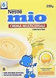 Nestlé Mio - Crema Multicereali, da 6 Mesi - 3 confezioni da 250 g [750 g]