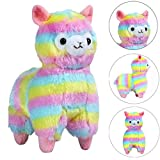 Clearance! Alpaca Llama Arpakasso Soft Toys, HOMEBABY 13cm/18cm Animal Stress Relief Toys Soft Plush Toy Doll Gift Cute Toys Kids Gift Fun Soft Toy Jumbo Collection Easter Gift (13cm, Colorful)