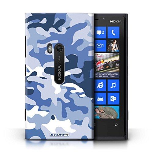 Coque en plastique pour Nokia Lumia 920 Collection Armée/Camouflage - Vert 3 Bleue 1