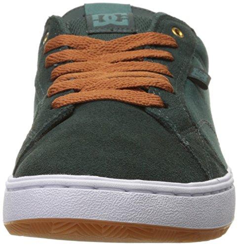 DC  Astor, Chaussures de skateboard pour homme multicolore noir/blanc vert foncé