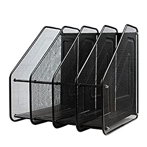 organisateur de bureau en m tal maille rack module de classement papeterie a4 dossier porte. Black Bedroom Furniture Sets. Home Design Ideas