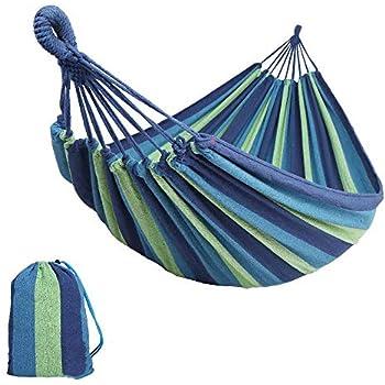 Patio Bed esterna di campeggio Amaca per Double Persona Con zanzariera Blu