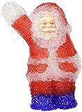 Weihnachtsdeko Beleuchtete Acryl Figuren, batteriebetrieben (Weihnachtsmann)