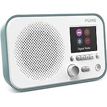 Pure Elan BT3 Portable Digital DAB/DAB+/FM Radio with Bluetooth - Alarm - Colour Screen - Battery / Mains Powered - Mint