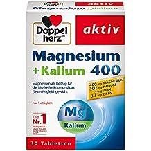 Doppelherz Magnesio+Potasio, 30 Piezas