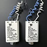 Electrónico Ignitor Starters para HPS HID lámparas luz de halogenuros metálicos 70–400W cd-7h 220–240V, 50–60Hz, pack de 3unidades, color blanco