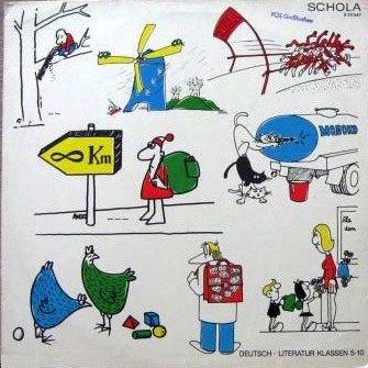 Various - Völkerhumor. Auswahl 1 Für Den Literaturunterricht In Den Klassen 5 Bis 10 - SCHOLA - 8 70 047