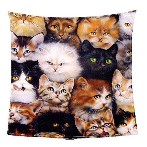AI XIN SHOP Kuscheldecke 3D Katze Coral Fleece werfen Decke leichte Cozy Bett Couch Decke (größe : 150 * 200cm-59 * 78.7inch) (Katze Werfen Fleece Decke)