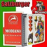Modiano Salzburger Modiano Regional Italian Playing Cards. Authentic Italian Deck.