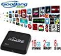 GooBang Doo First Generation XB-I Quad Core Android TV Box 2GB RAM 16GB ROM + 4335 Wifi Module(Support 802.11AC) + Newest Kodi with All Preloaded Add-ons