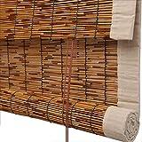 WUFENG Reed Vorhang Schattierung Abgeschnitten Retro Rollo Wasserdicht Schimmelbeweis Schlafzimmer Mehrere Größen Kann Angepasst Werden Türvorhang (Farbe : C, größe : 130x250cm)