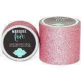 American Crafts Heidi Swapp 10268595Schablone zum Festzelt Love Washi Tape 2Zoll Pale Pink Glitter, 8