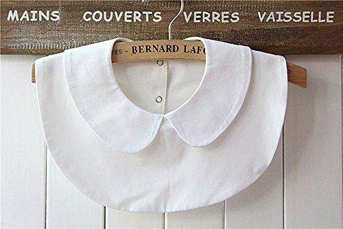 magik-choker-necklace-unisex-women-peter-pan-detachable-lapel-shirt-fake-false-collar-peter-pan-whit