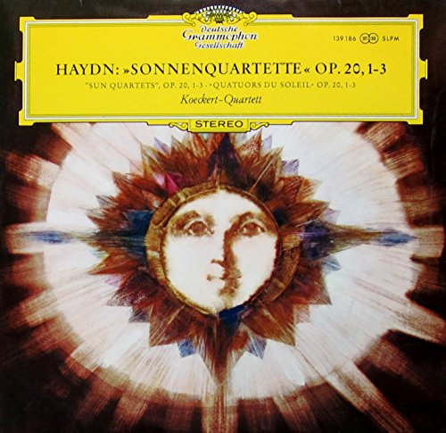 3' Vinyl (Haydn: Streichquartette Es-dur op. 20 Nrn. 1-3 'Sonnenquartette' [Vinyl LP] [Schallplatte])
