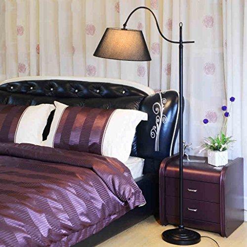 Lampe de plancher verticale de salon de salon créative simple A+