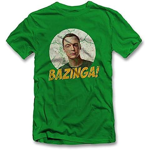 Bazinga 02 Vintage T-Shirt S-XXL 12 Colori