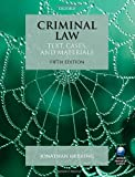 Criminal Law: Text, Cases, and Materials