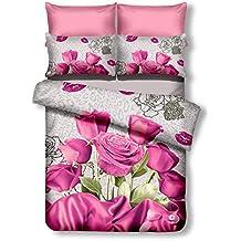 3d Bettwäsche 135x200 Rosen Suchergebnis Auf Amazonde Für