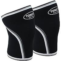 Knie Sleeve 1Paar 7mm Neopren Kompression Knee Sleeves Unterstützung für Kniebeugen Crossfit Powerlifting Gewichtheben... preisvergleich bei billige-tabletten.eu