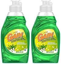 GAIN Gain Ultra Dishwashing Liquid-Original- 9 oz by GAIN