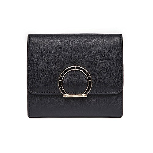 Wallet LCCKorean Version Of The New Leather Female Short Leather Folding Zipper Large Capacity