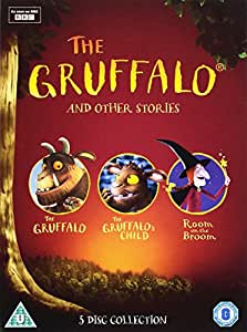 The Gruffalo and Other Stories (The Gruffalo/The Gruffalo's Child/Room On The Broom) [DVD]