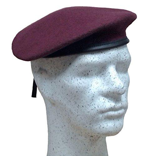 Fritzsch Französisches Commando Barett, bordeaux, Gr. 55