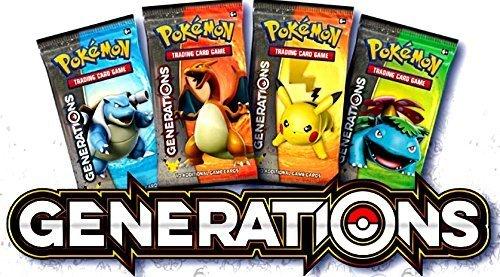 Pokemon Generationen Expansion Booster Pack x 4 (Pokemon Generation)