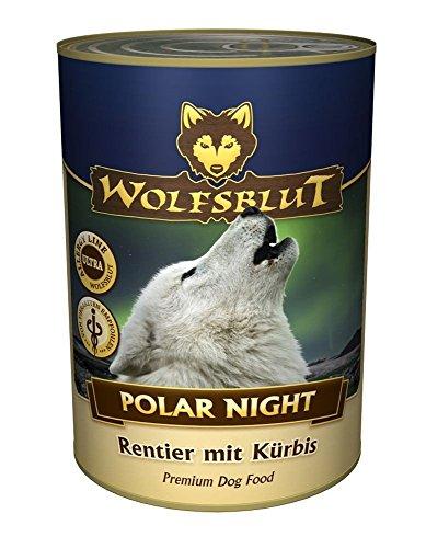 Wolfsblut Dose Polar Night | 6x 395g Hundefutter nass ohne - 800g Wolfsblut Nassfutter