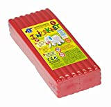 Feuchtmann Spielwaren 628.0305-4 - Juniorknet Knete Jumbo Pack, 500 g, rot